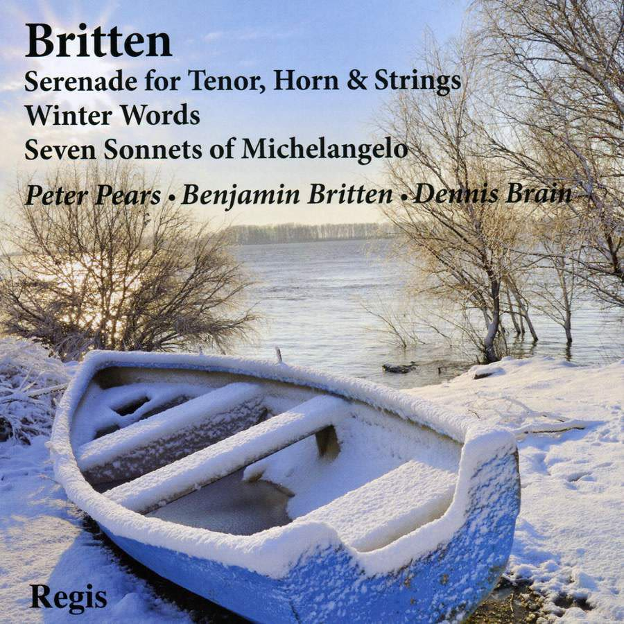 Photo No.1 of Britten: Song Cycles