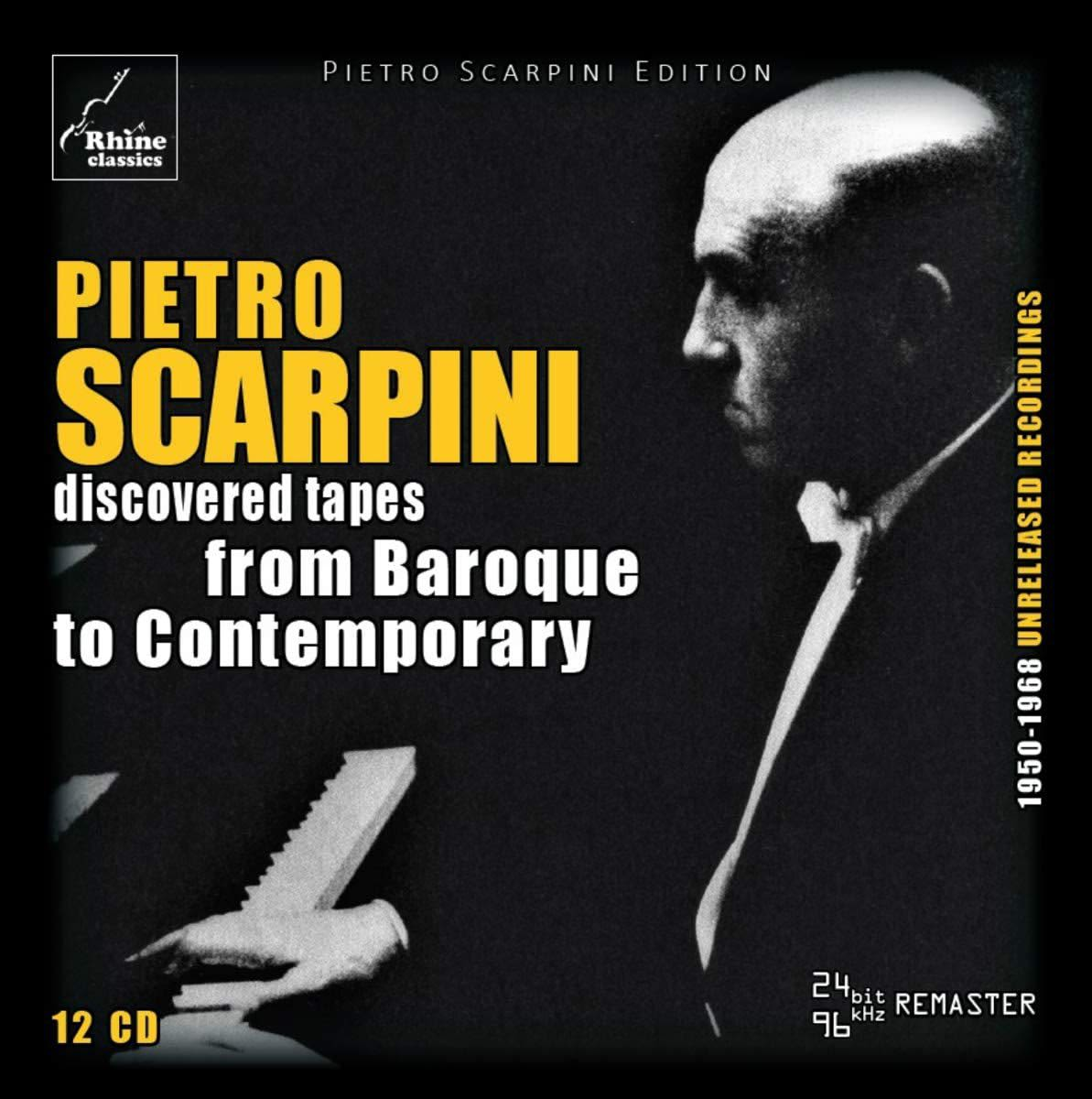 Photo No.1 of Pietro Scarpini - Discovered Tapes from Baroque to Contemporary