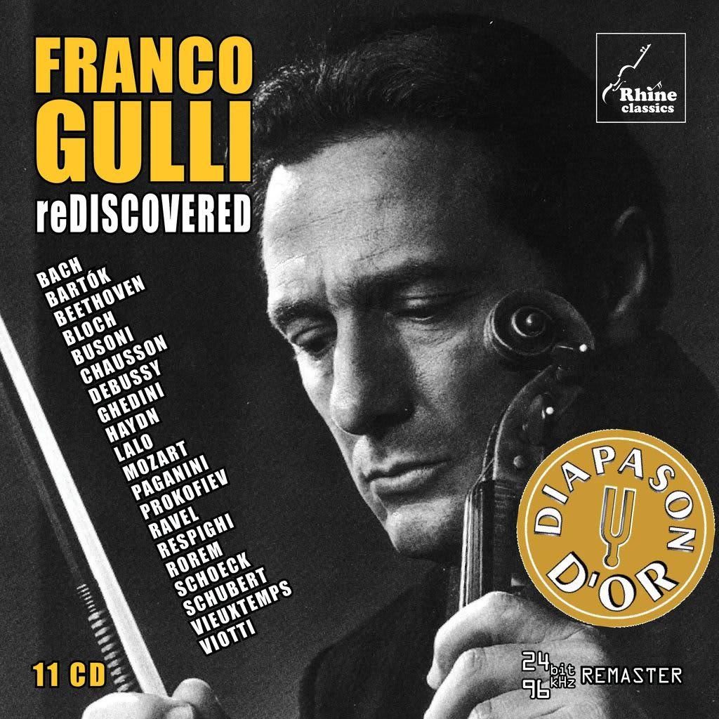 Photo No.1 of Franco Gulli Rediscovered: 1957-1999 Unreleased & Rare Recordings