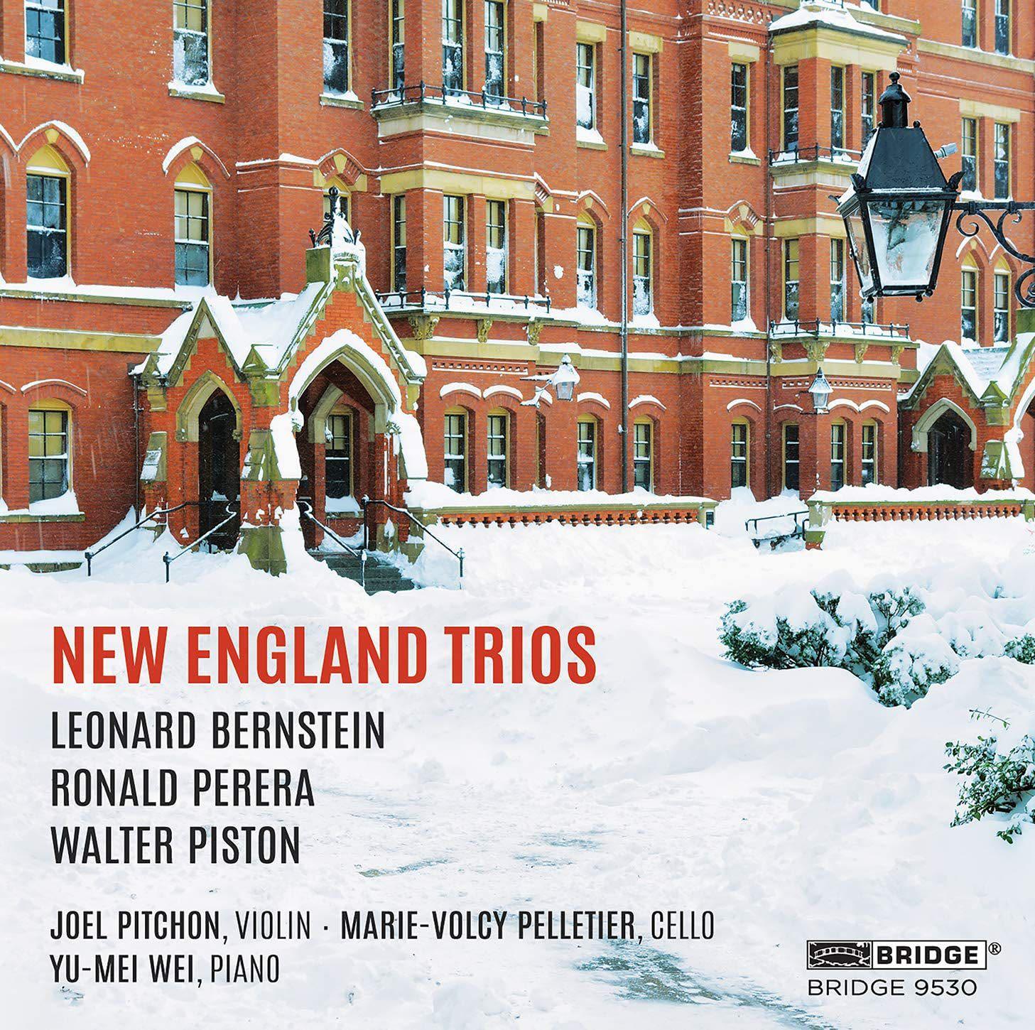 Photo No.1 of New England Trios: Piston, Bernstein, Perera