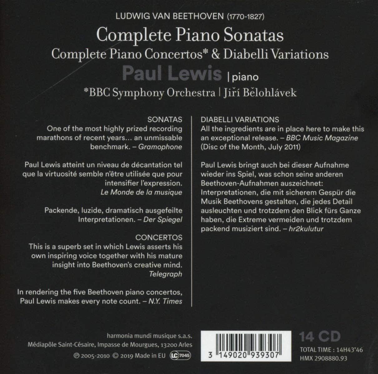 Photo No.2 of Beethoven: Complete Piano Sonatas, Concertos & Diabelli Variations