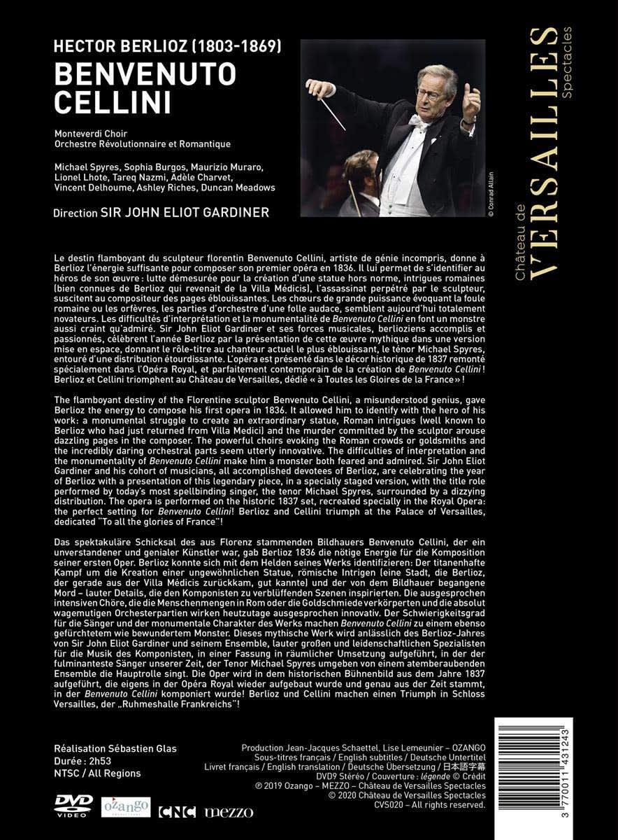 Photo No.2 of Berlioz: Benvenuto Cellini