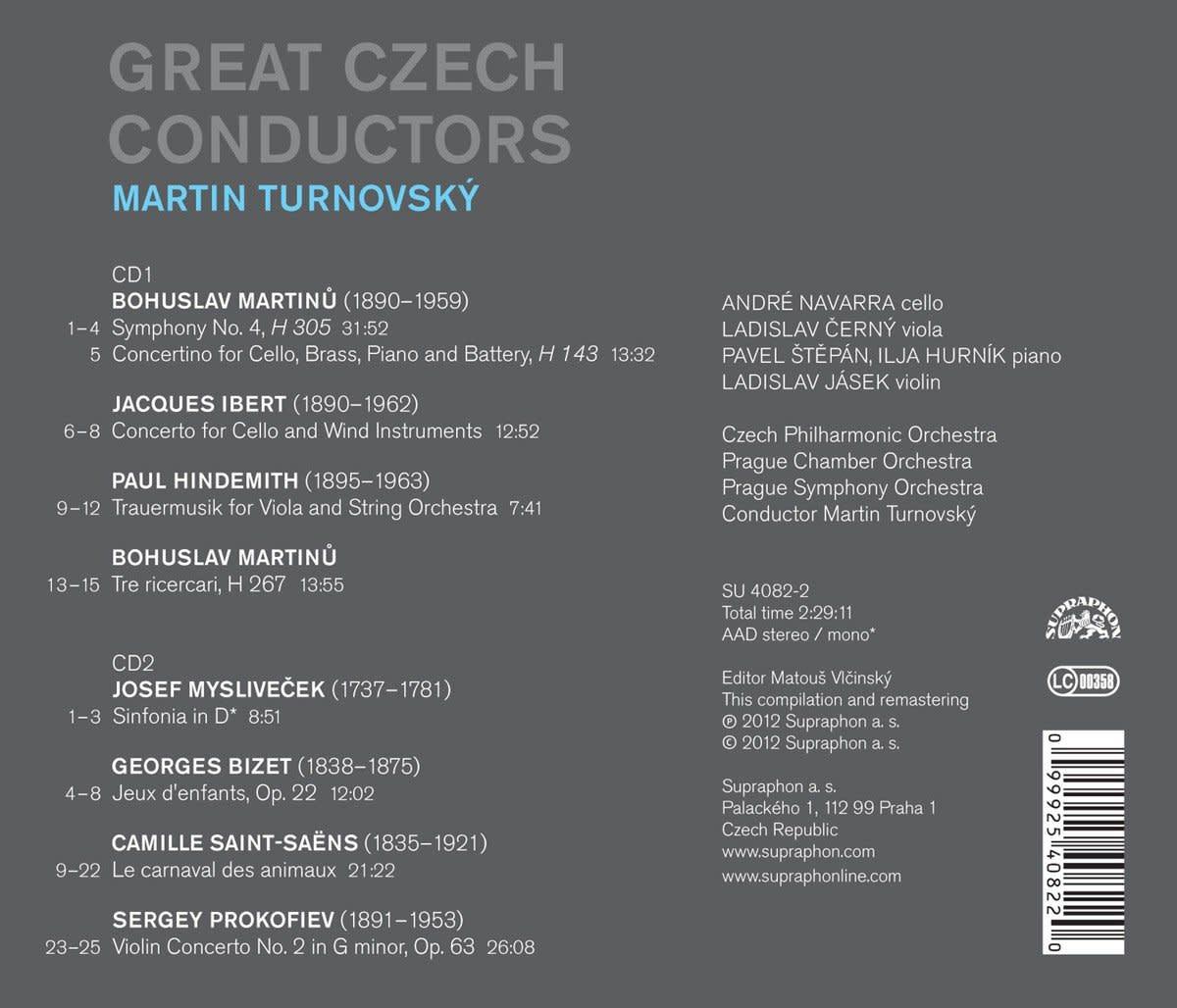 Photo No.2 of Great Czech Conductors: Martin Turnovský