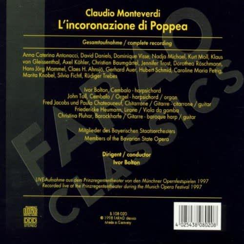 Photo No.2 of Claudio Monteverdi: Lincoronazione di Poppea