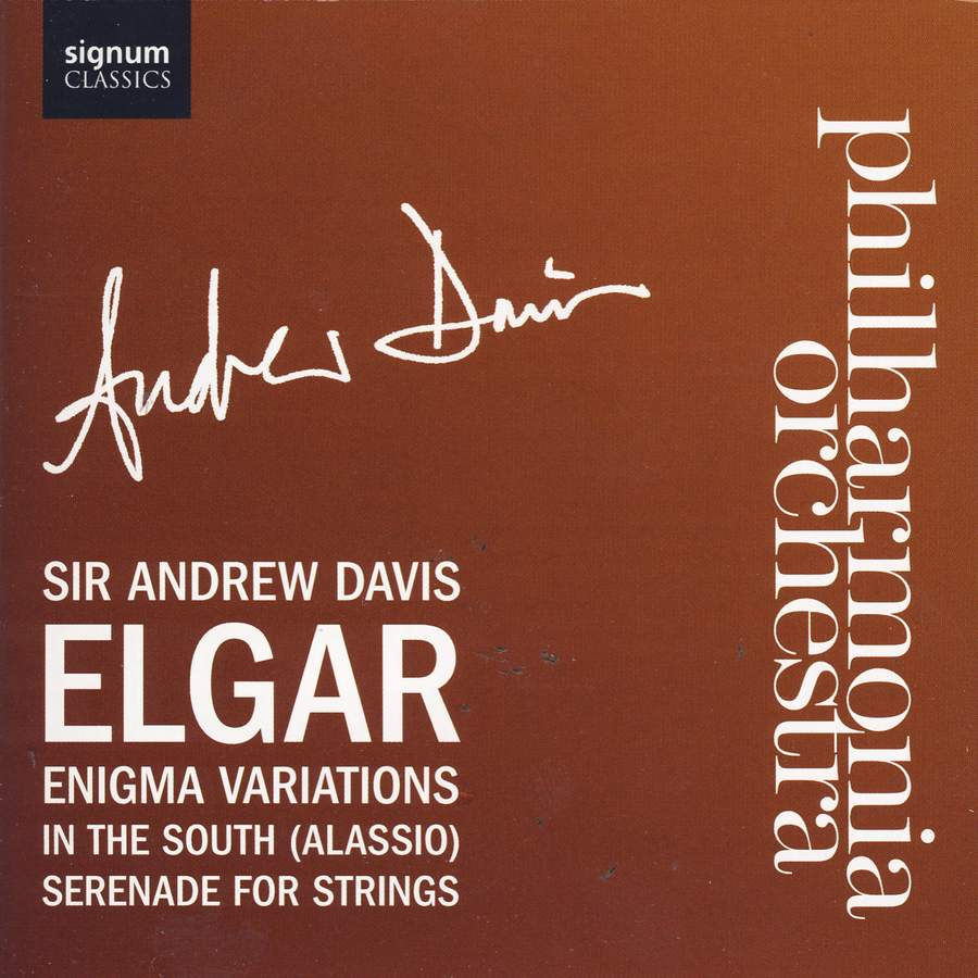 Photo No.1 of Edward Elgar: Enigma Variations, In the South (Alassio), Serenade for Strings
