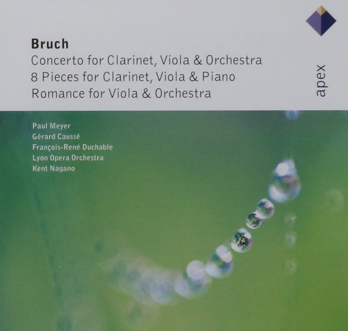 Photo No.1 of Bruch: Works for Clarinet & Viola