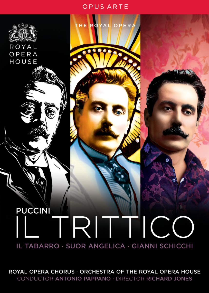 Photo No.1 of Giacomo Puccini: Il Trittico (Il Tabarro, Suor Angelica & Gianni Schicchi)