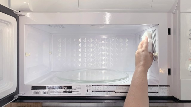 How To Clean Every Part of Your Microwave