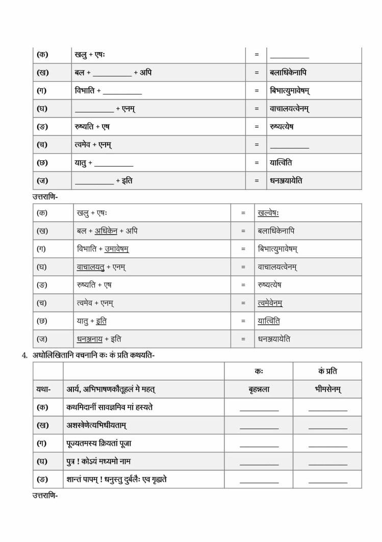ncert solutions class 9 sanskrit shemushi chapter 7 pratyavigyanam 2