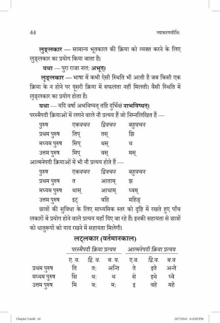 ncert-solutions-class-9-sanskrit-vyakaranavithi-chapter-5-dhaturup-samanya-parichay-4