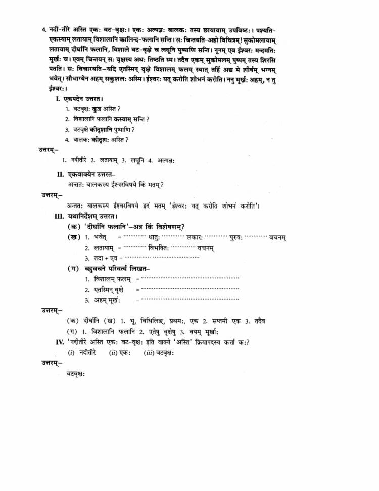 ncert-solutions-class-9-sanskrit-abhyaswaan-bhav-chapter-1-apathitabodhanm-4