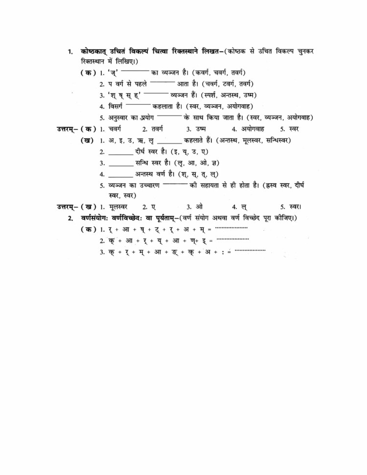 ncert-solutions-class-9-sanskrit-abhyaswaan-bhav-chapter-12-varnawichar-1