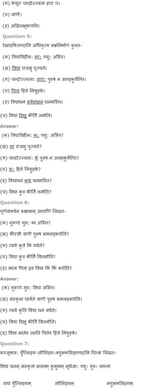 ncert solutions for class 7 sanskrit chapter 13 amrutan sanskrutam 3