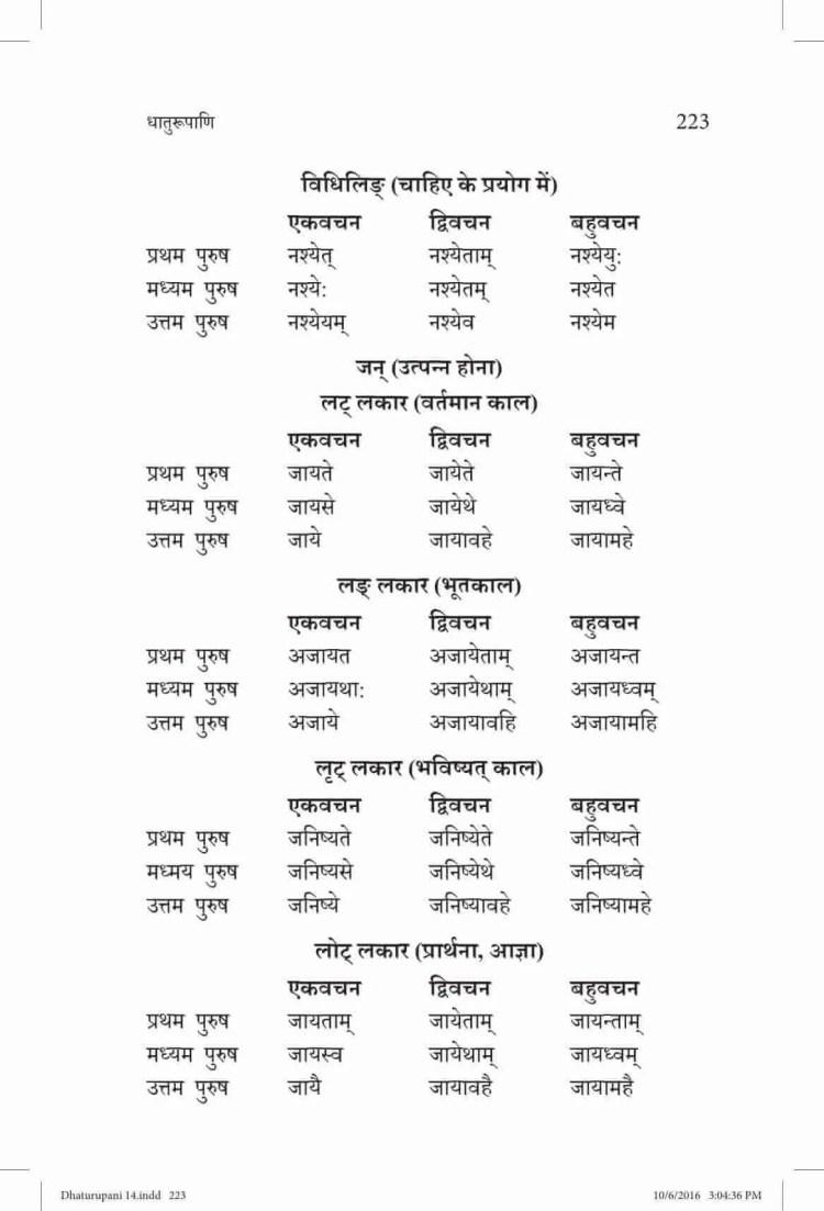ncert-solutions-class-9-sanskrit-vyakaranavithi-chapter-14-parishist-dhaturupani-45
