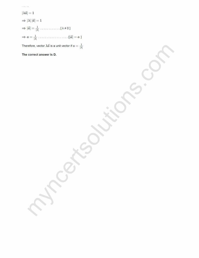 NCERT Solutions For Class 12 Maths Chapter 10 Ex 10.3