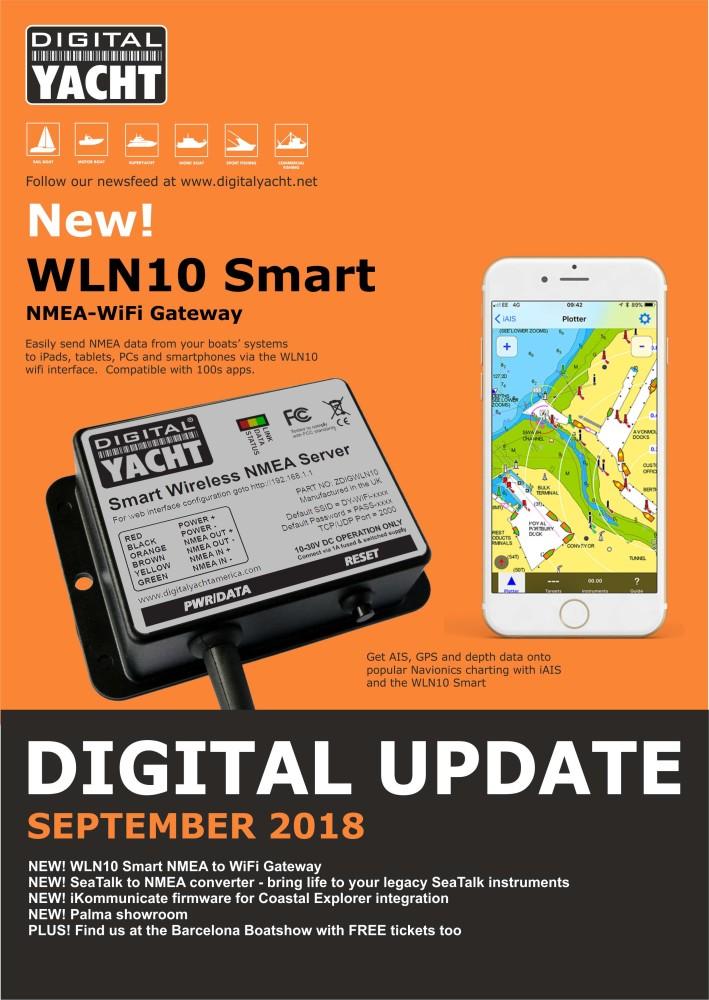 Digital Yacht September 2018 Update