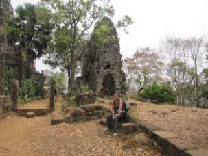 temples aux 358 marches battambang au cambodge