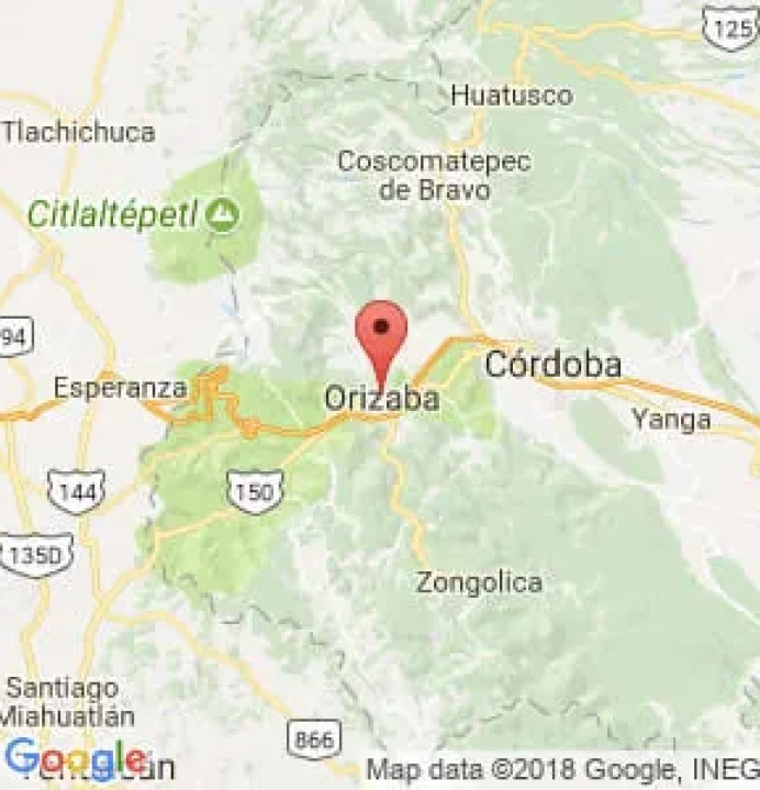 Resultado de imagen de corredores de Orizaba a Córdoba