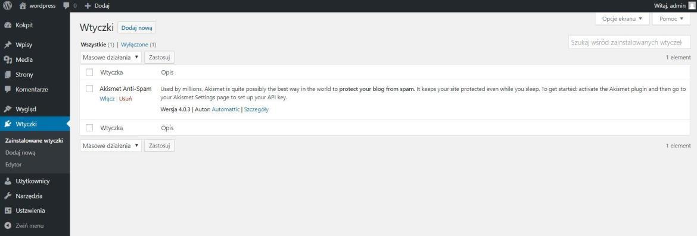 Wprowadzenie do WordPressa dla opornych » część 10
