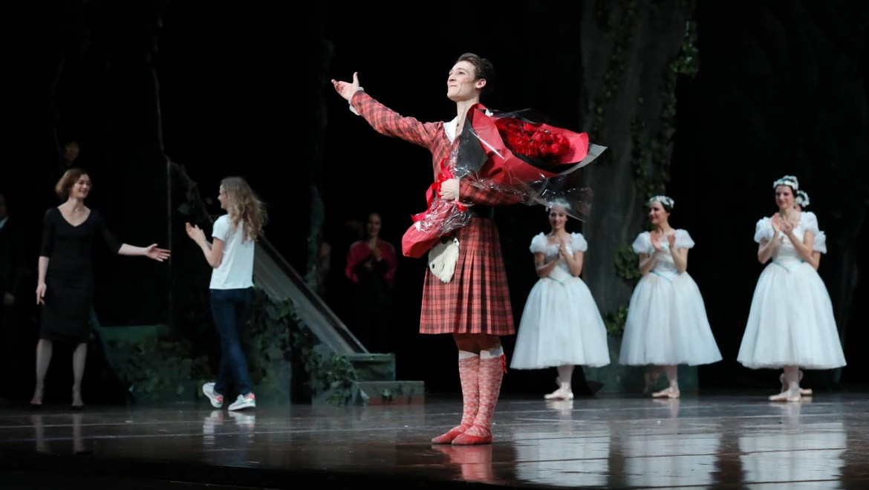Hugo Marchand Nomm Danseur Toile De LOpra National De