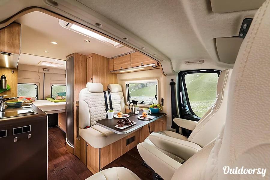 2018 Hymer Aktiv Motor Home Class B Rental In Pleasant