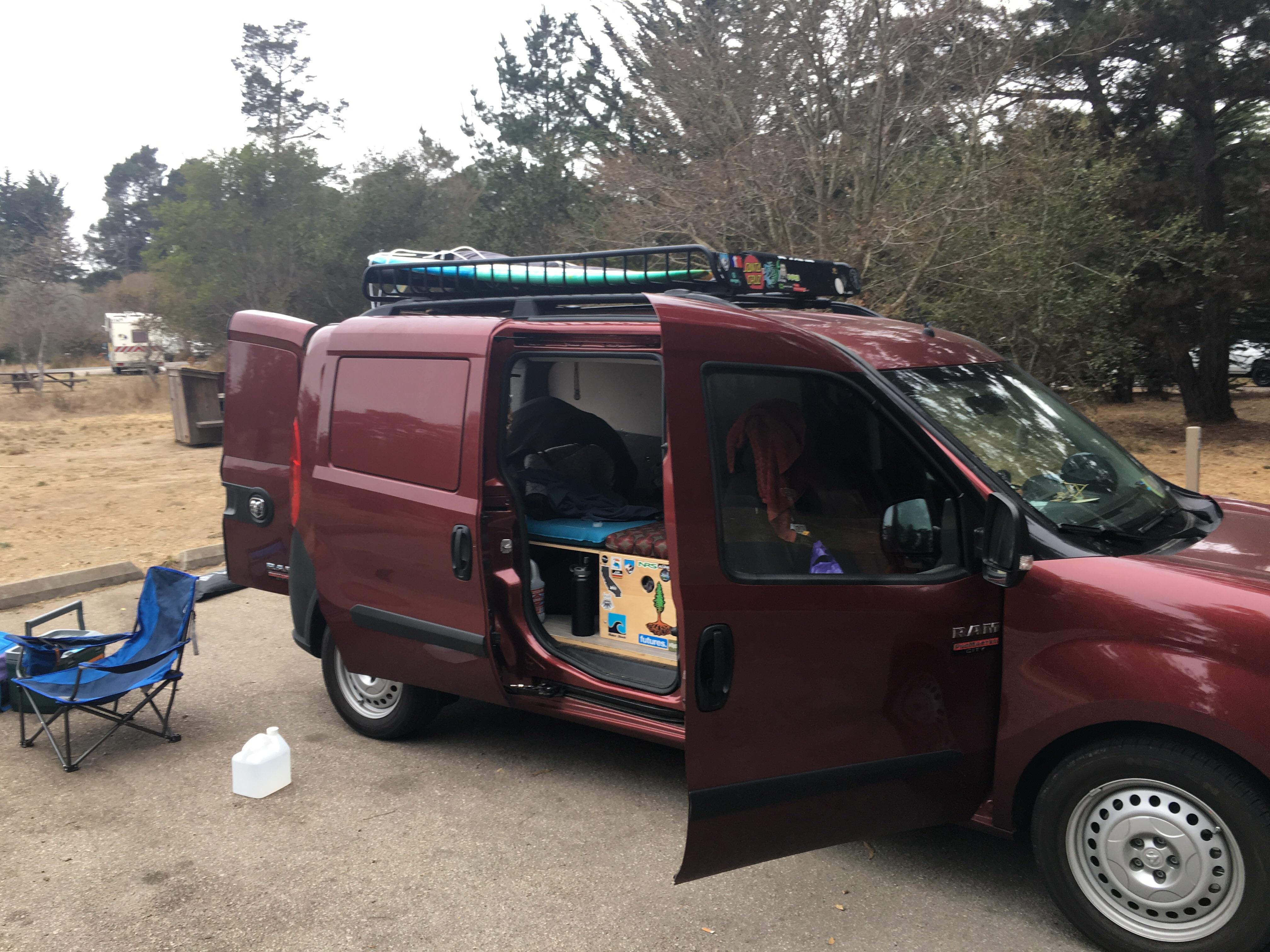 2018 ram promaster city tradesman wayfarer camper