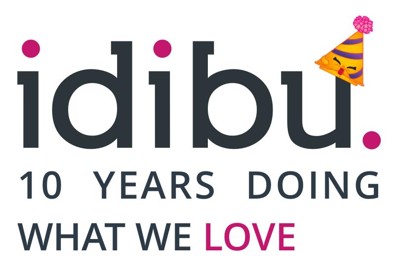 idibu celebrates 10 years!