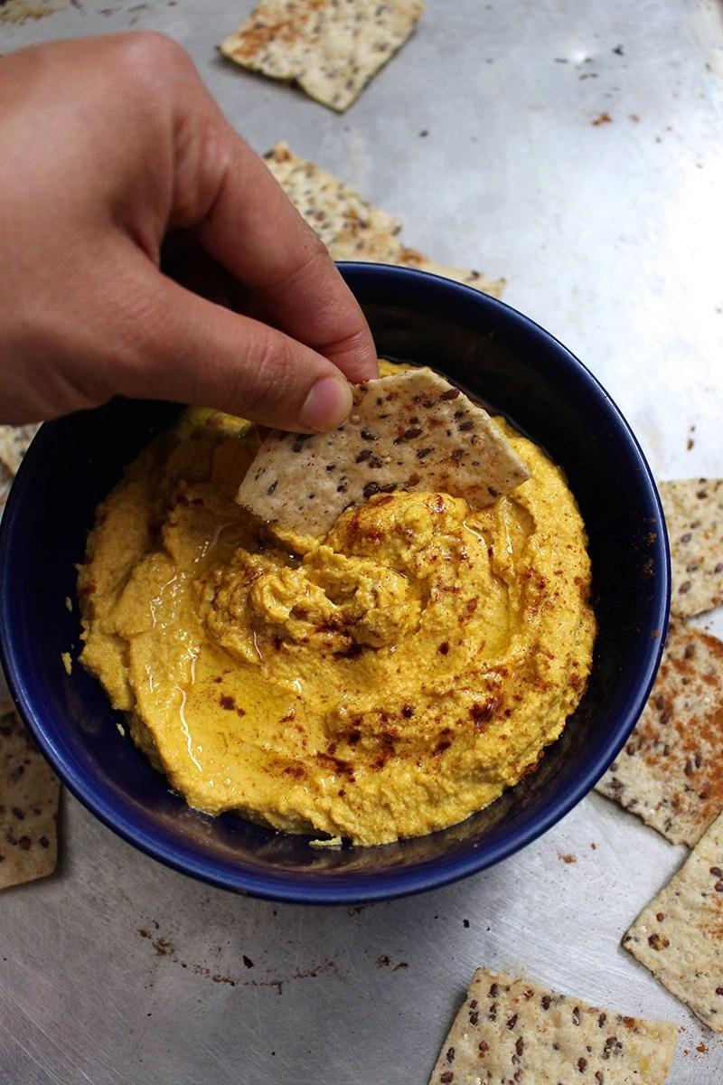 Paleo Pumpkin Hummus