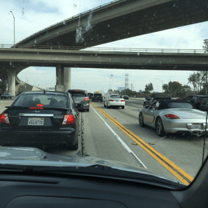 HOV Lanes don't help much