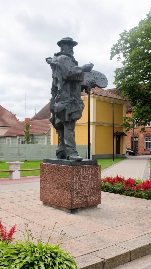 Памятник Иоханну Кёлеру
