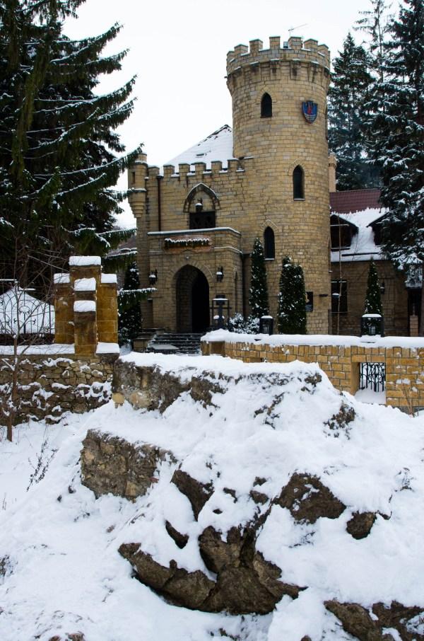 Замок Коварства и Любви в окрестностях Кисловоловодска