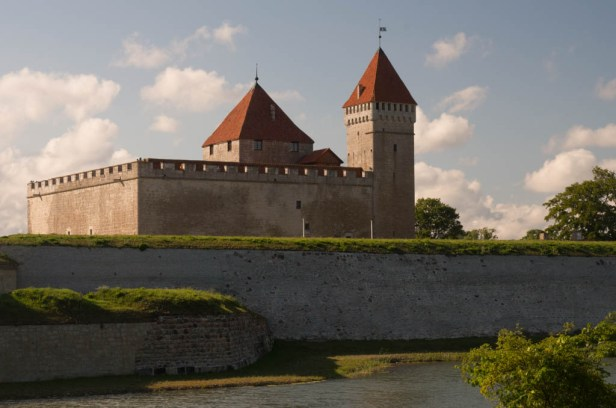 Епископский замок. Курессаре. Сааремаа. Эстония