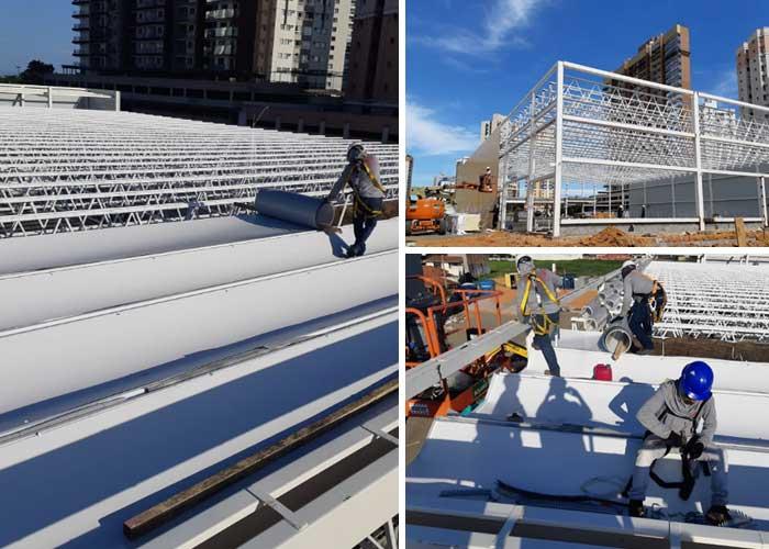 Coberturas Metálicas para grandes obras