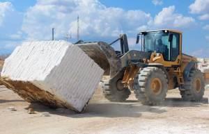 Resíduo sustentável de mármore
