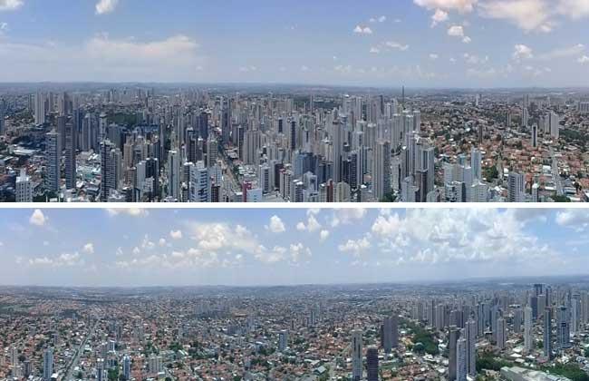 Apartamento com visão 360º