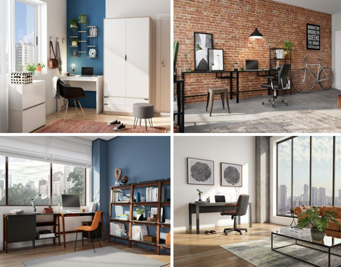 Tok&Stok na adaptação do home office