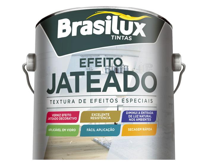 Brasilux lança verniz com efeito jateado