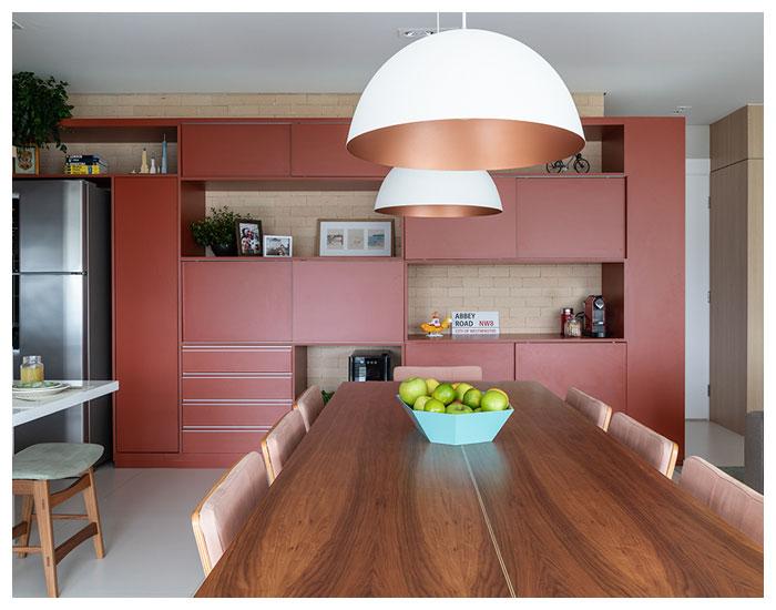 Cozinhas coloridas de Marina Carvalho