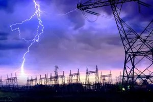 Protecting against lightning surges