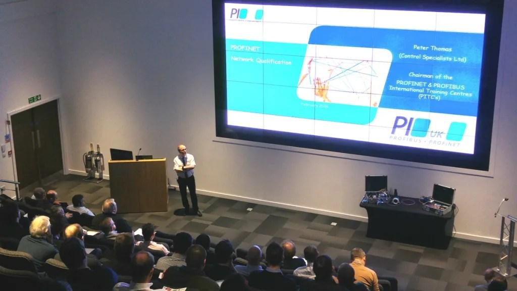 Peter Thomas in full flow at MTC Seminar