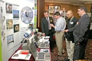 Lots to see in the  PROFIBUS exhibition