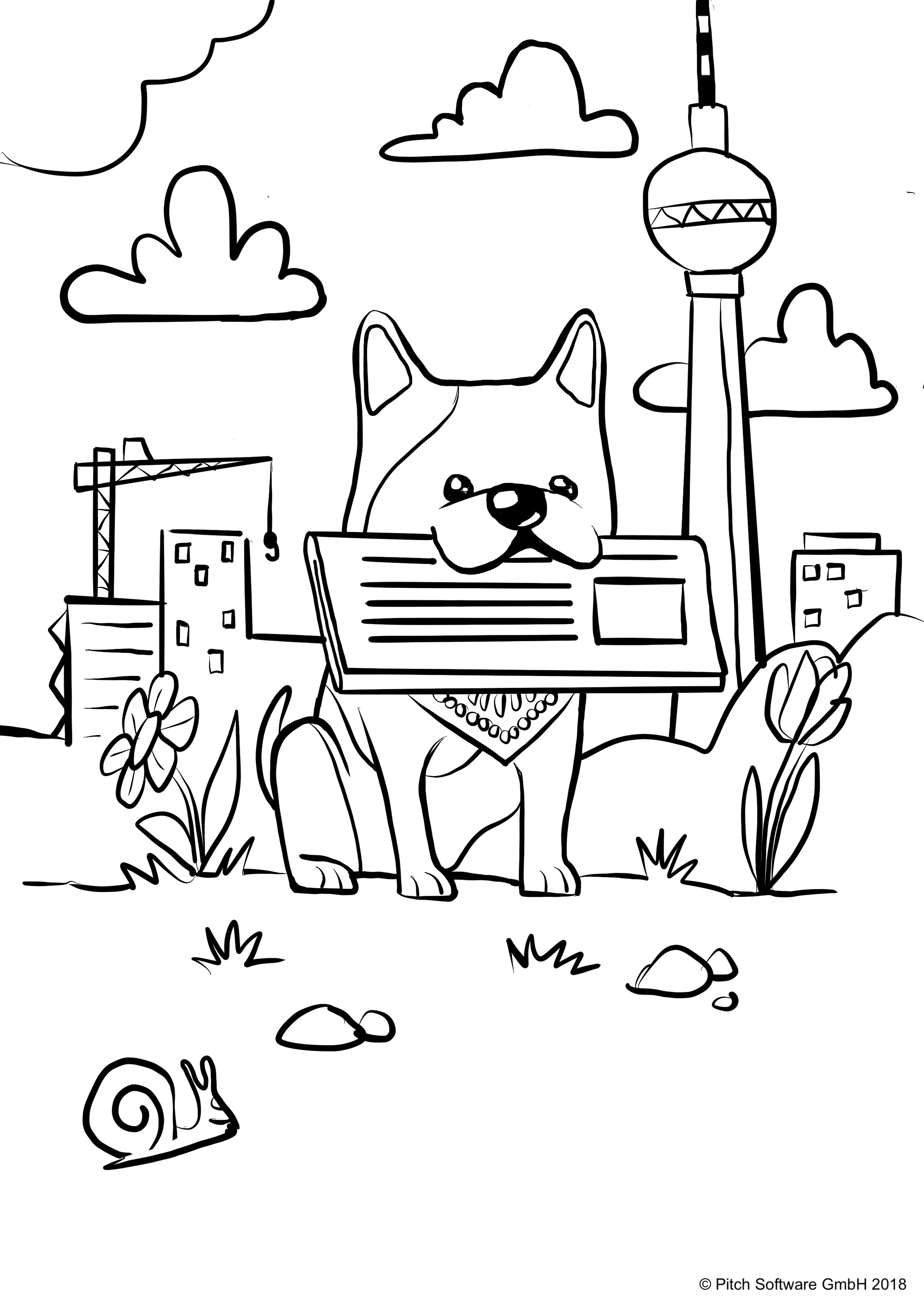 Otto Coloring Page