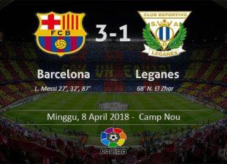 Barcelona 3-1 Leganes