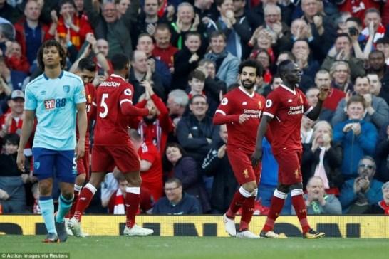 Liverpool 3-0 Bournemouth