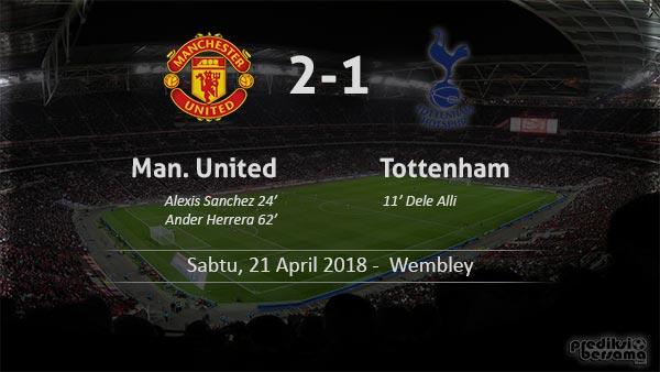 Hasil Man United 2-1 Tottenham