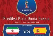 Iran vs Spanyol Piala Dunia 2018