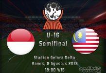 Indonesia vs Malaysia - Piala AFF U-16 2018