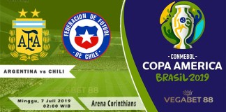 Prediksi Argentina vs Chili - Perebutan Juara Tiga Copa America 2019