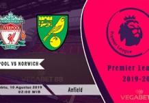 Prediksi Liverpool vs Norwich - Liga Premier - 10 Agustus 2019