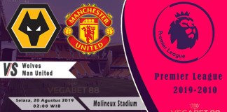 Prediksi Wolves vs Manchester United - Premier League 2019-20